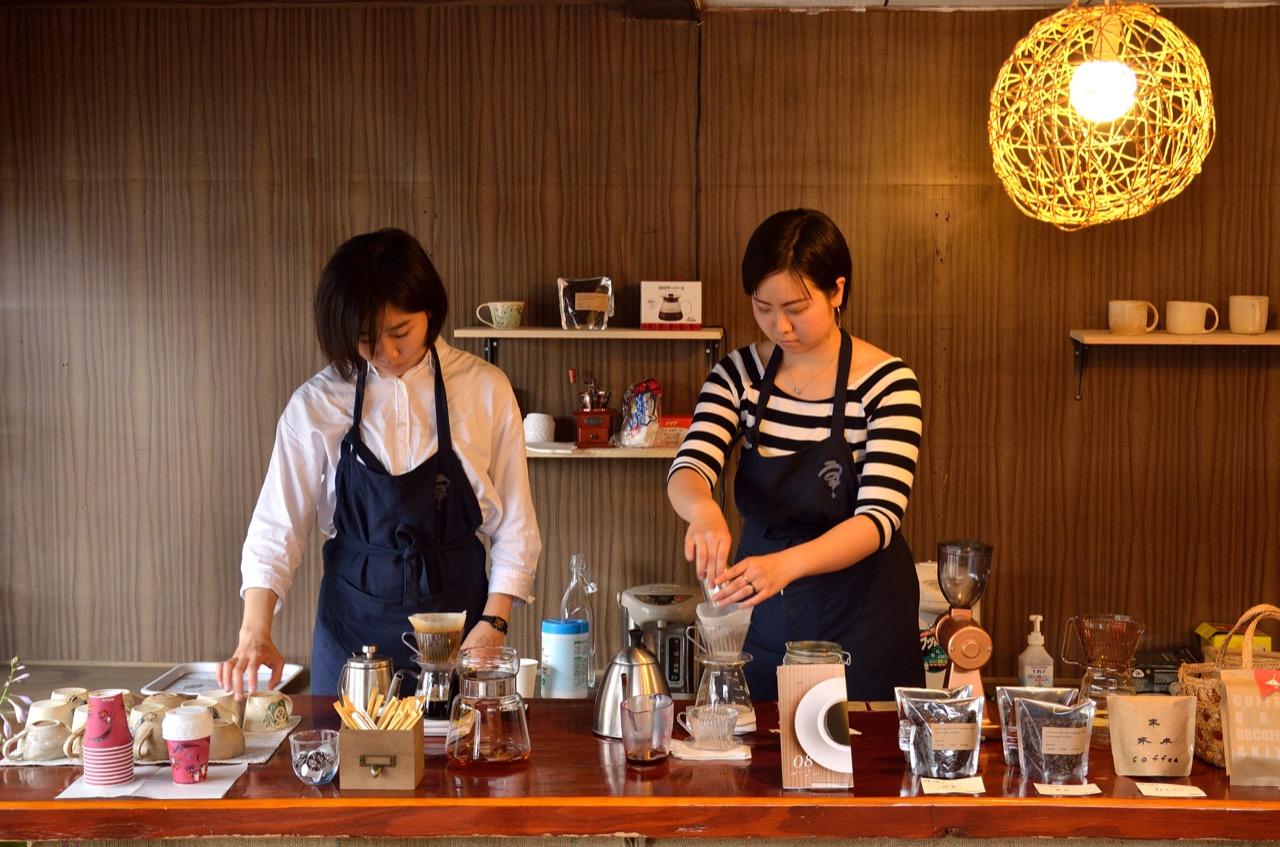 uzz.cafe(ウズズカフェ)の様子