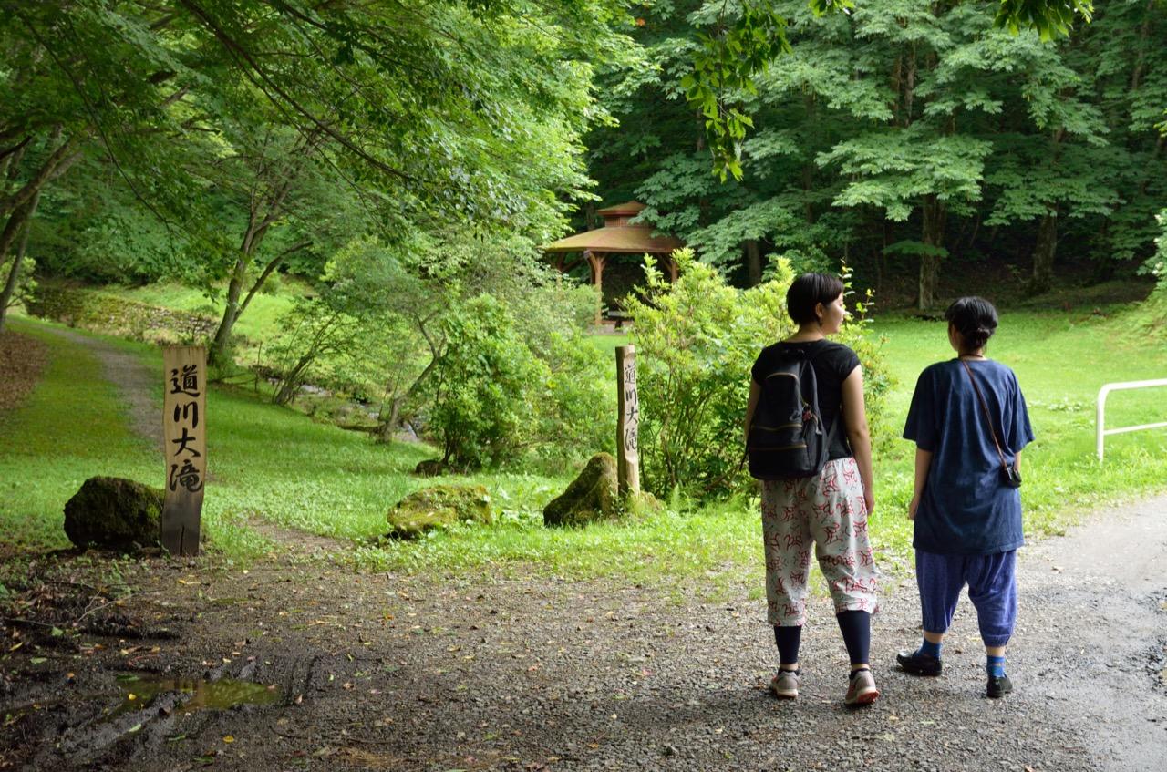 道川大滝(秋田市)|【あきた夏旅】おすすめ観光スポット