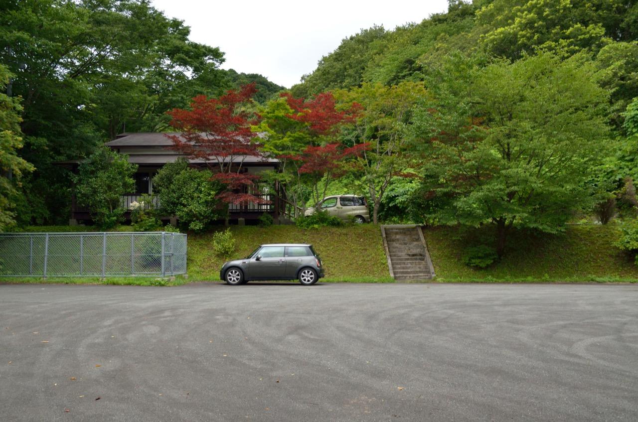 駐車場|道川大滝近く休憩所