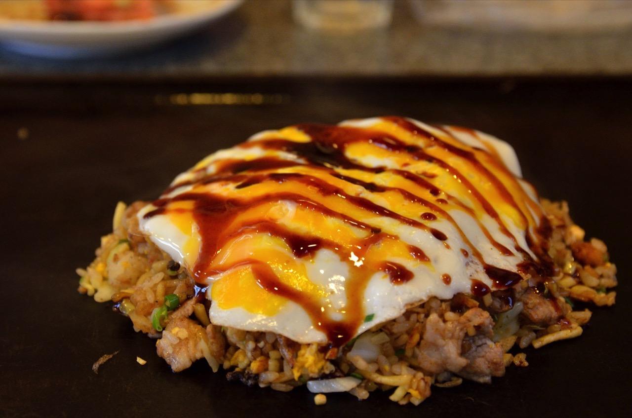 そば飯|とんぼ亭 - お好み焼き・鉄板焼き(秋田市)