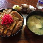 名物カツ丼|大衆食堂えびす屋(北秋田市米内沢)