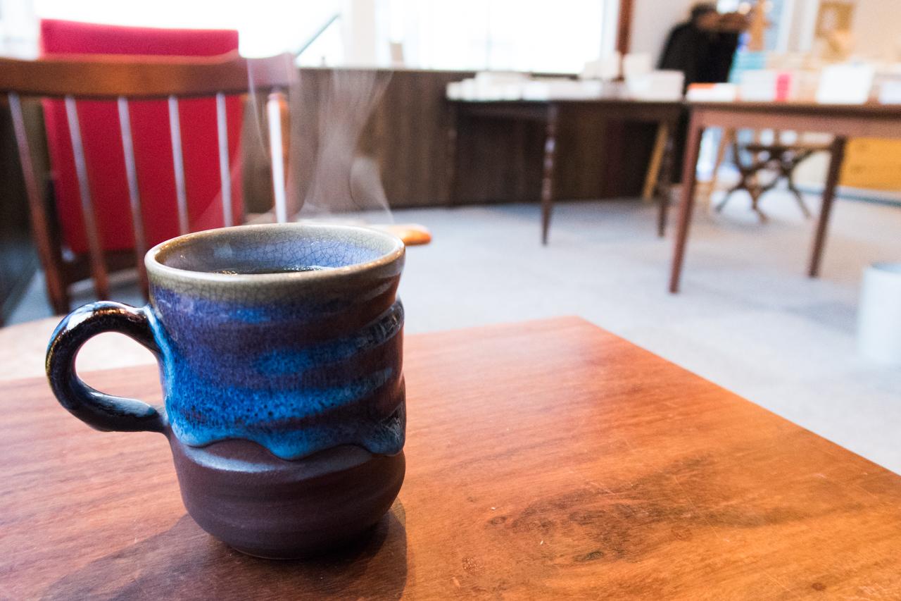 コーヒー(500円) - 中通書店 秋田市
