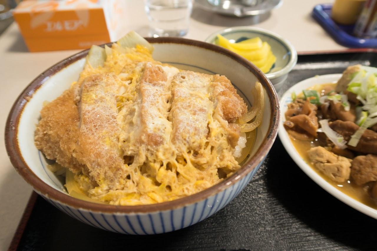 カツ丼単品 ¥480|舘の丸食堂 秋田市