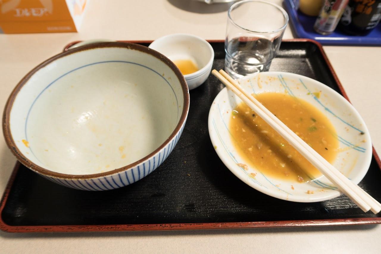 カツ丼完食!!|舘の丸食堂 秋田市