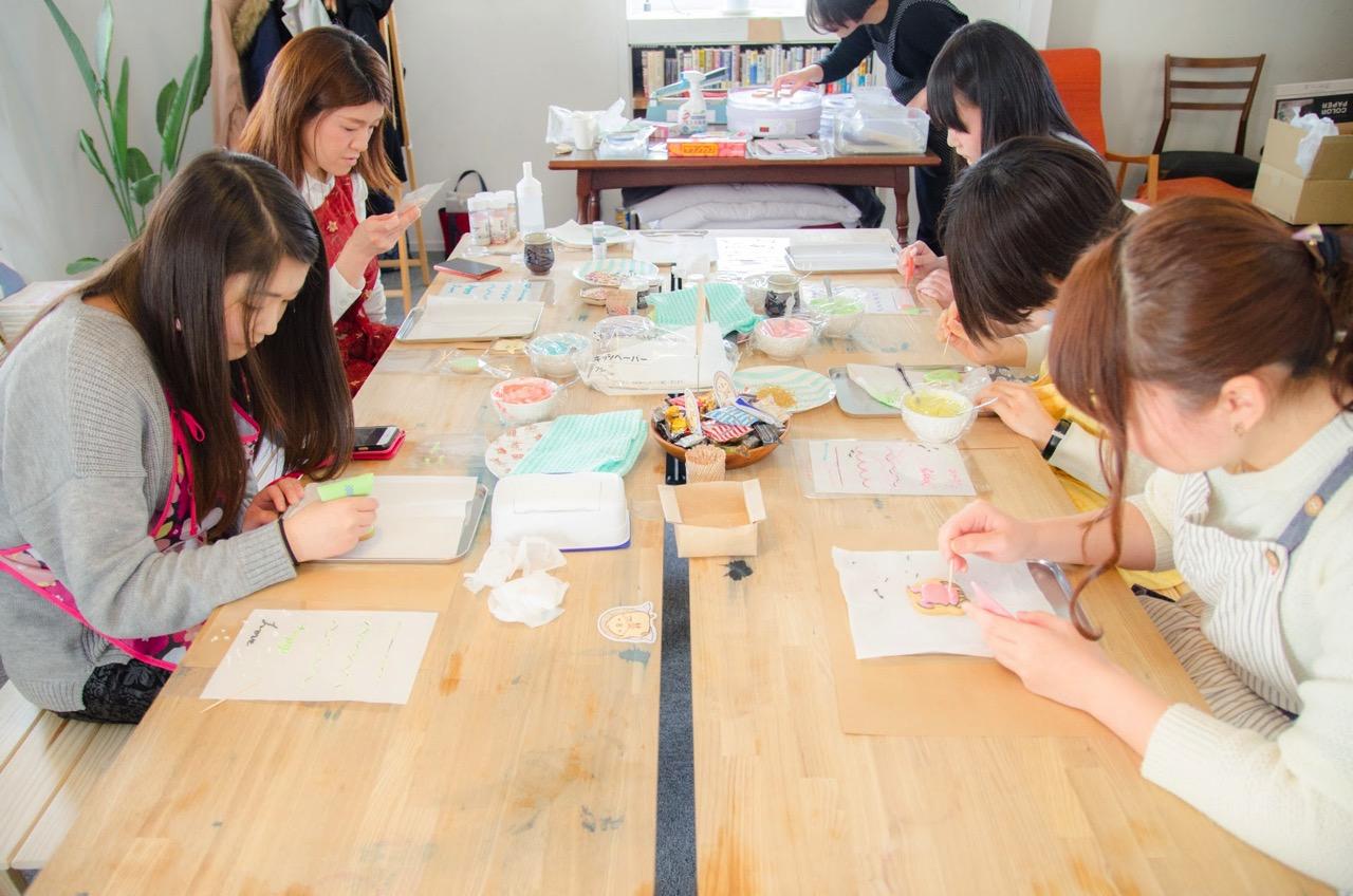 Joli icing cookie classroom(ご出張編 in 中通書店)