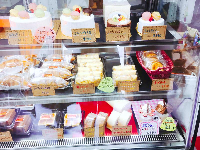 ふわふわのデコレーションシフォンケーキがおすすめ!大館市の洋菓子店「カスタード」
