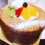 ふわふわのデコレーションシフォンケーキがおすすめ。大館市の洋菓子店カスタード