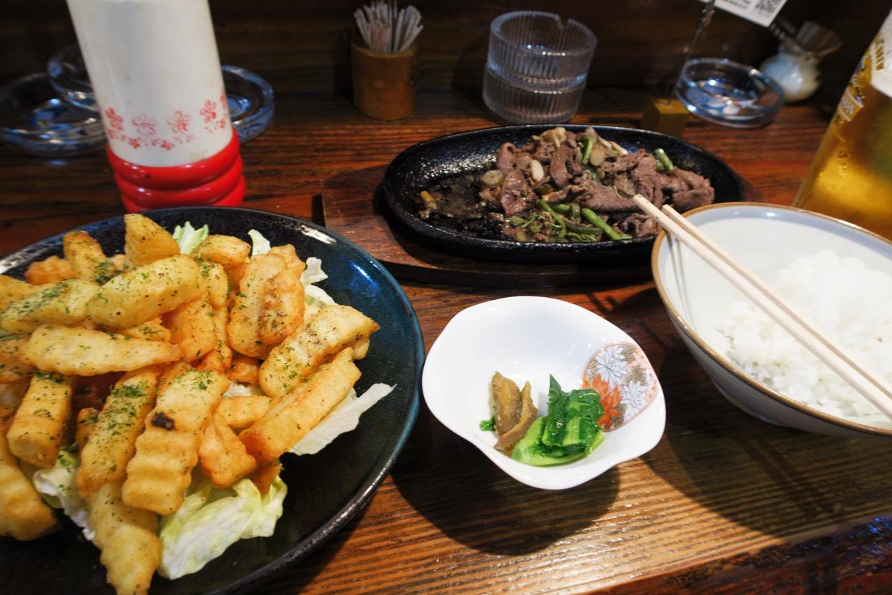 マタギ料理が食べられる十文字「食い道楽」