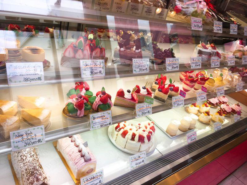いちごのスイーツで春を感じよう。北秋田市ワールボンボンの春色ケーキ