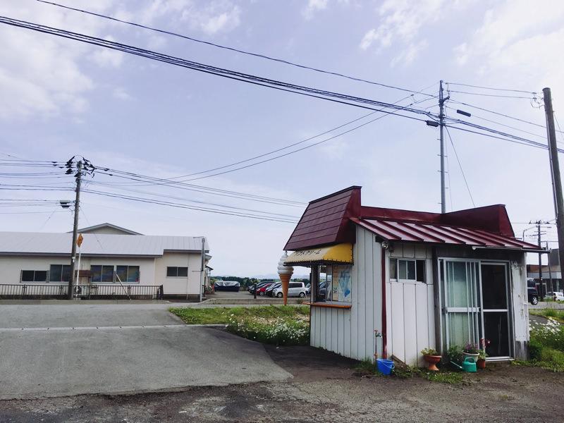 【北秋田市たかのすまち歩き】昔なつかしい味わい。三沢のソフトクリーム