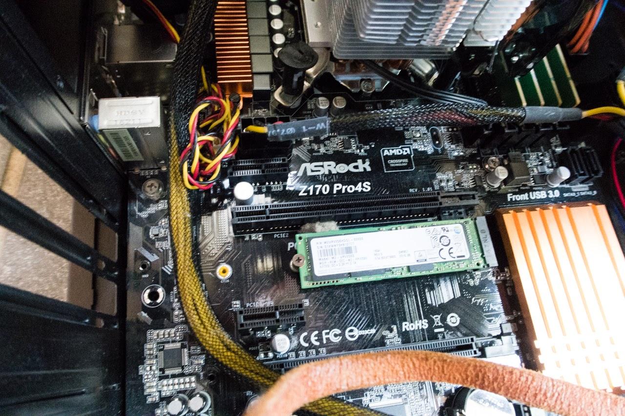 PC掃除 マザーボード