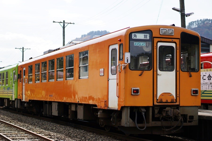 秋田内陸縦貫鉄道(内陸線)急行 犬っこ列車に乗って鷹巣〜阿仁合めぐり