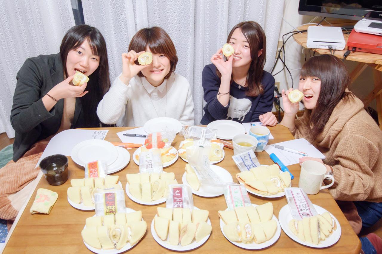 バナナボート食べ比べ!秋田の人気ローカルスイーツを徹底調査