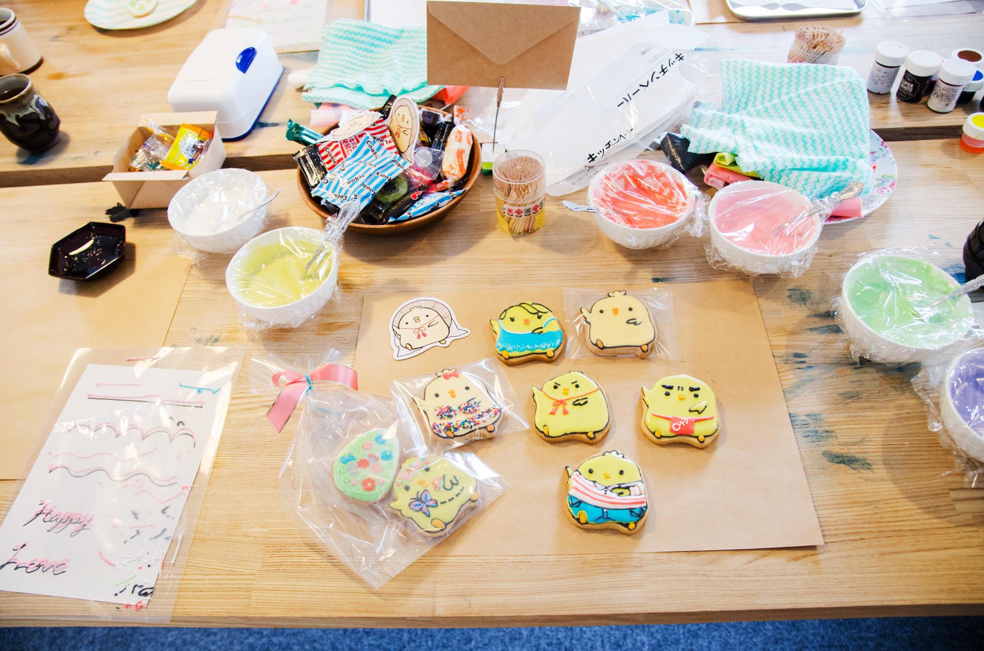 みんなのこまっちー大集合!|Joli アイシングクッキー イベント 秋田市