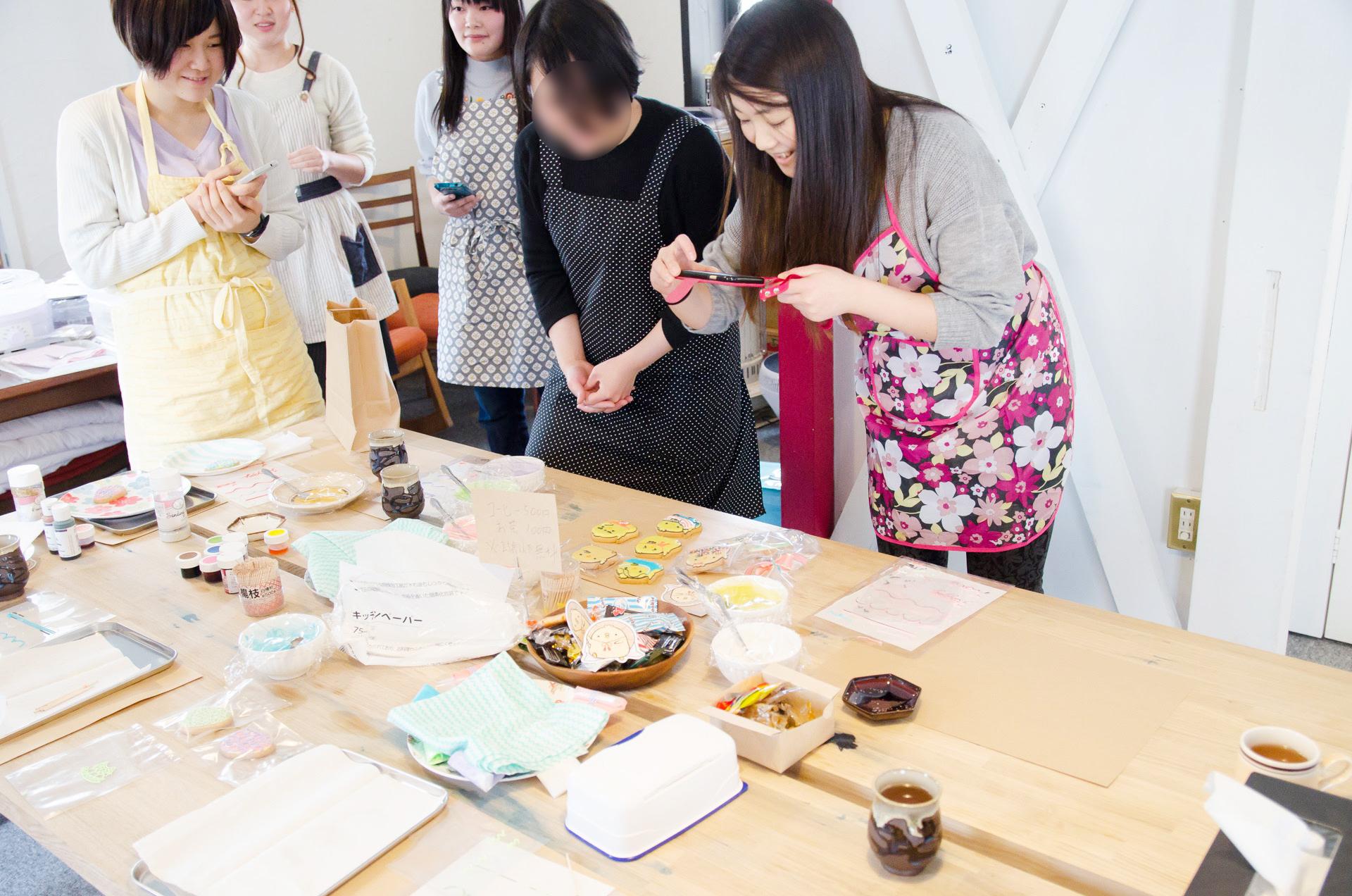Joli アイシングクッキー イベント 秋田市